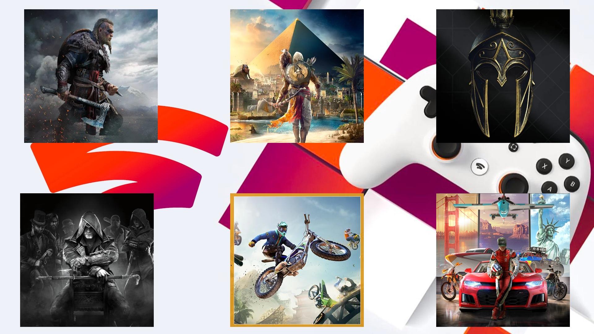 [Stadia] Ubisoft Sale u.a mit Assassin's Creed Valhalla, The Crew 2, Assassin's Creed Origins
