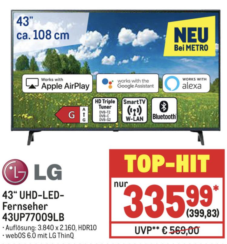 LG 43UP77009LB UHD-TV (2021)