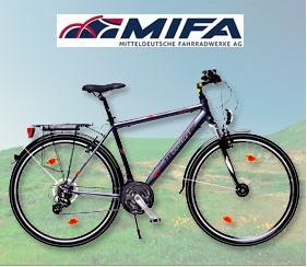 """Mifa Aluminium-Trekkingbike 28"""" für Herren für 199,-"""