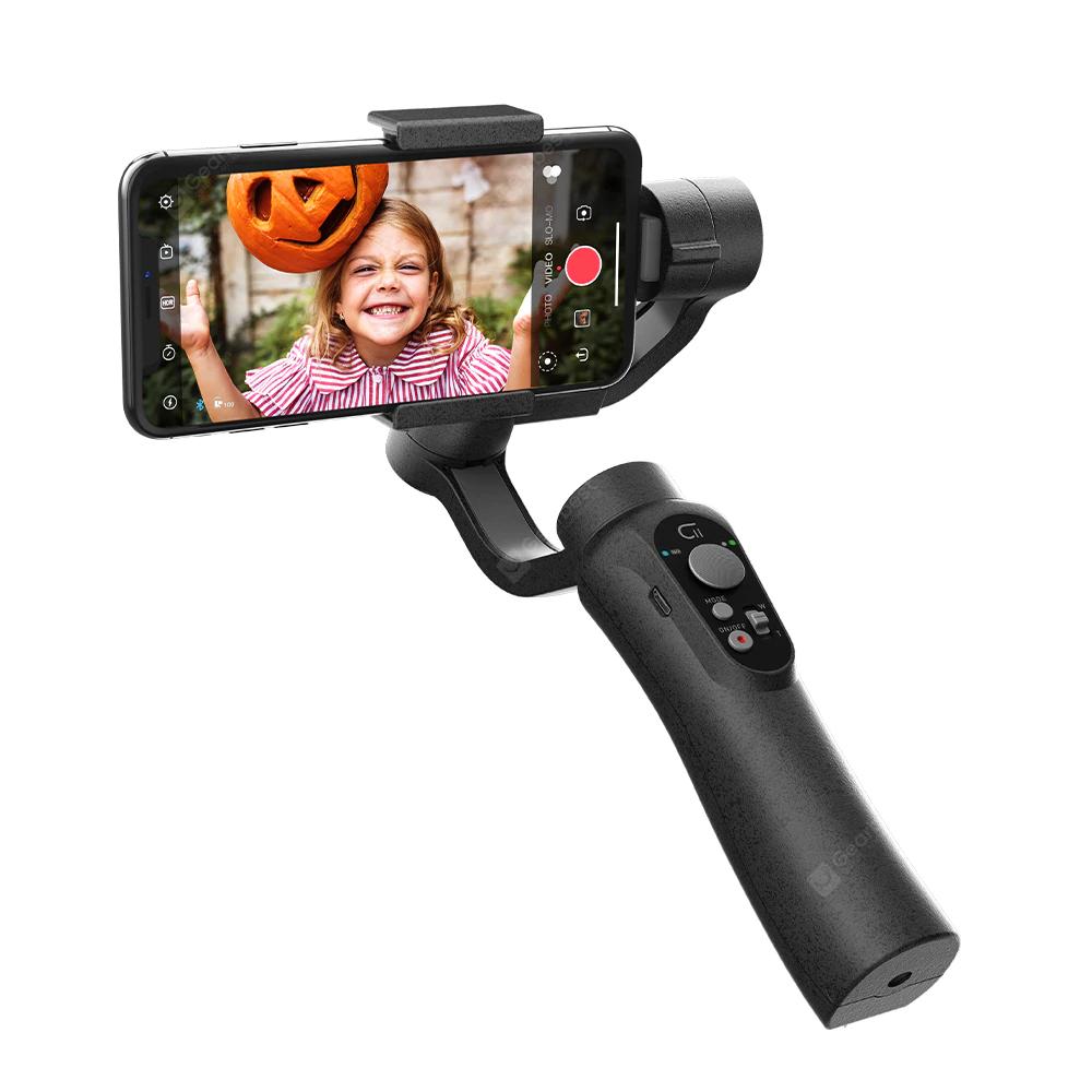 3-Achsen-Gimbal Zhiyun Cinepeer C11 (für Smartphones bis 200g, 4-Wege-Joystick und Zoomregler, verschiedene Modi, ~12h Akku, App) für 44,25€