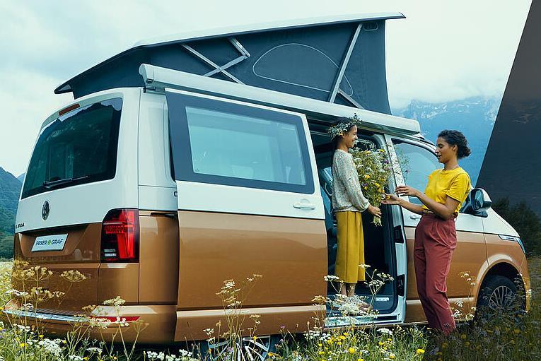 Privatleasing: VW California T6.1 Beach Camper (konfigurierbar) für eff 358€ inkl. Überführung - LF:0,67