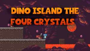 (PC) Dino Island - The Four Crystals - Itch.io