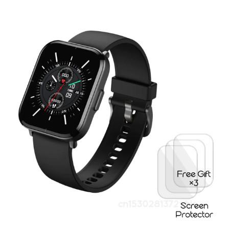"Mibro Color Smartwatch + 3 Schutzglasfolien - 1,57"" Display , 5ATM wasserdicht, Blutsauerstoffsensor"