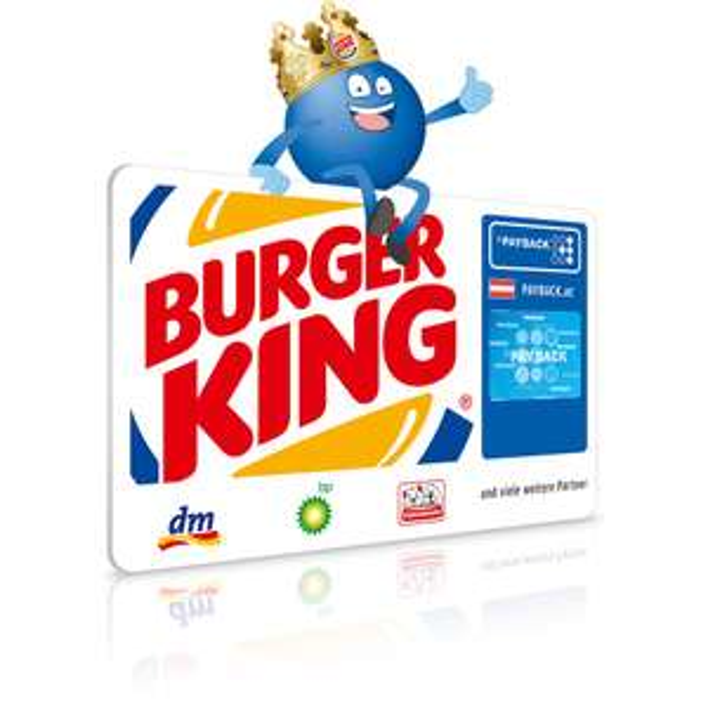 [BURGER KING] 15fach Payback auf Chicken Burger & Menüs 8fach auf alle Speißen & Getränke (personalisiert)