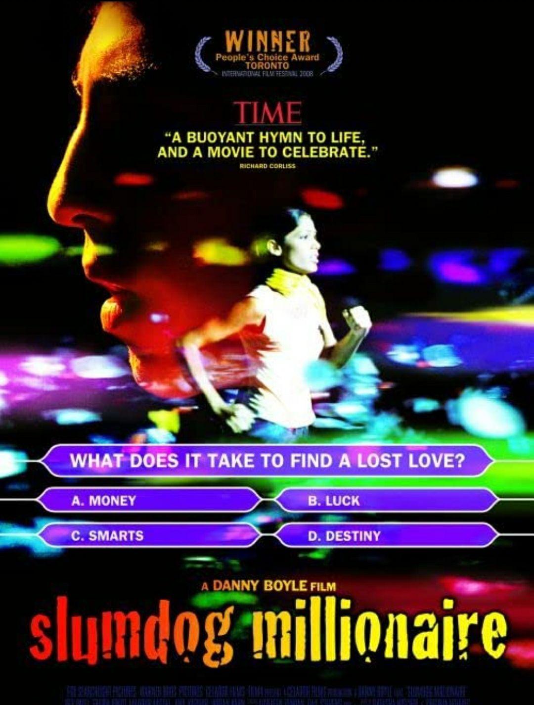 """[Servus TV Mediathek] 8-fach Oscar prämiert: """"Slumdog Millionär"""" kostenlos streamen [IMDb 8.0]"""
