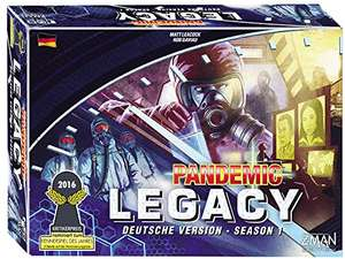 [Brettspiel - BGG 8.6] Pandemic Legacy - Season 1 BLAU (Amazon Prime)
