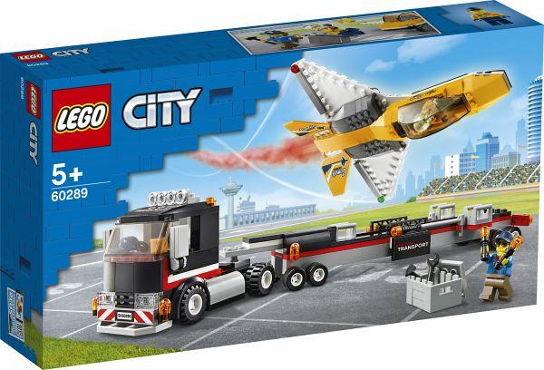 [bücher.de] LEGO City 60289 Flugshow-Jet-Transporter; ab 5 Jahren; 281 Teile