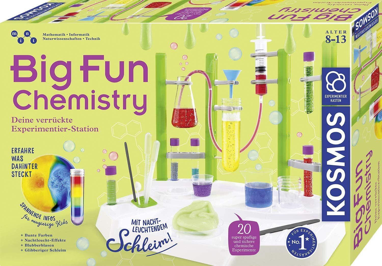 [Amazon UK] Brettspiele / Spielzeug Sammeldeal (15), z.B. Kosmos Big Fun Chemistry: Experimentierkasten (deutsche Versionen)