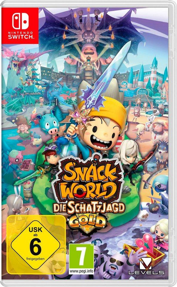 Snack World: Die Schatzjagd - Gold für Nintendo Switch