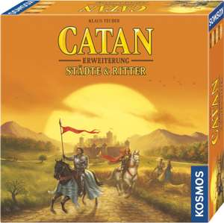 Die Siedler von Catan - Erweiterung Städte & Ritter [Thalia KultClub+Newsletter]
