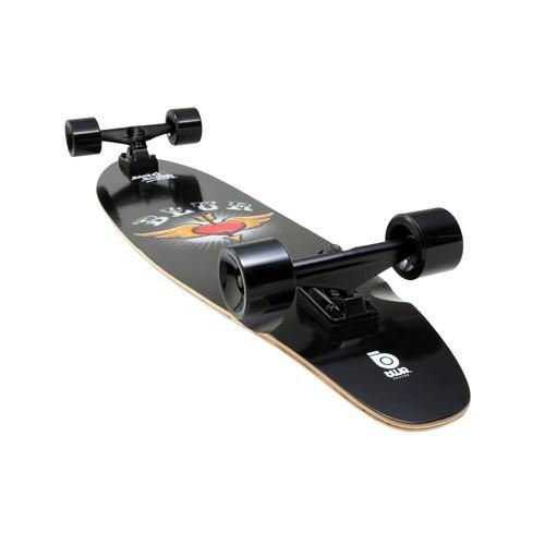Blur by Streetsurfing Longboard Black Beauty versandkostenfrei (UVP 149,99€ / idealo 106,80€)