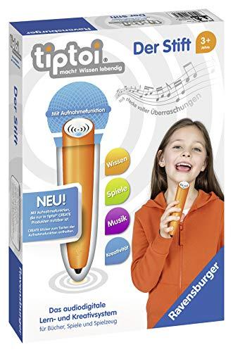 Ravensburger Tiptoi Stift mit Aufnahmefunktion innovatives Lern- und Kreativsystem für 27,99€ mit Prime
