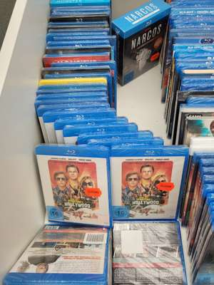 [Lokal MediMax Bernau bei Berlin] BluRay Once Upon A Time In Hollywood u. A.