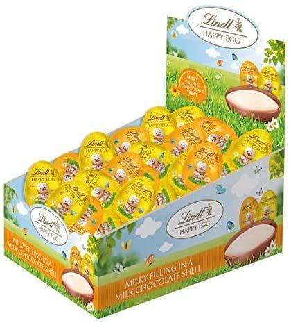Lindt Doppelmilch Eier für 17,42€ - 1,8kg