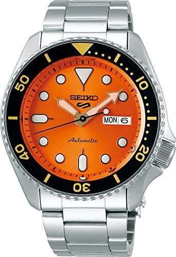 Seiko 5 sports, Automatik Uhr, Clockwork Orange, what Else? Armbanduhr