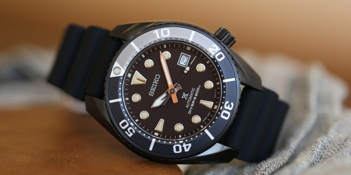 Seiko SPB125J1 Automatikuhr Black Sumo Limited Edition Armbanduhr