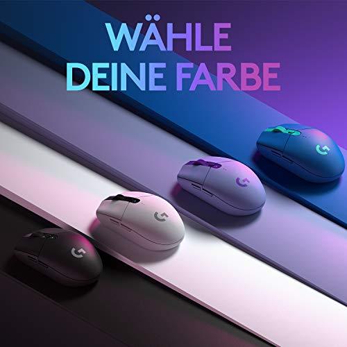 Logitech G305 Wireless Gaming Maus in allen Farben (schwarz,weiß,blau,lila) bei Amazon