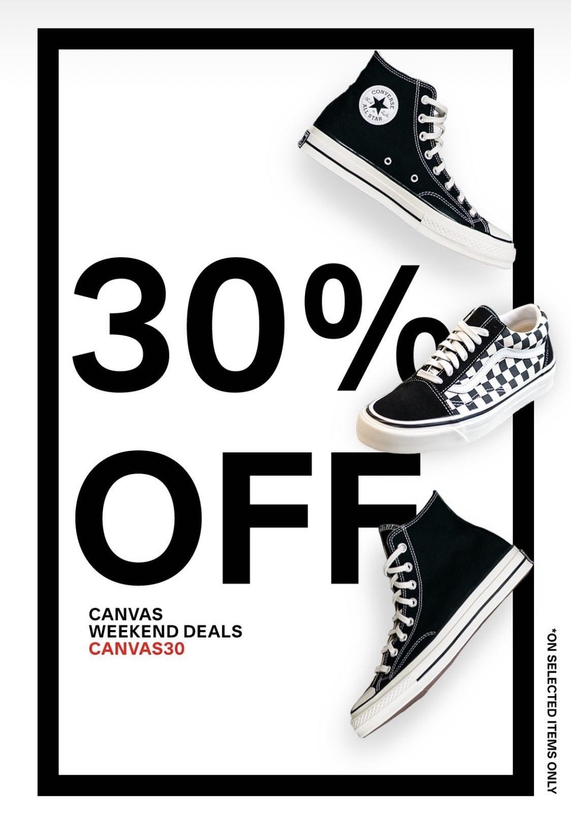 [Kickz] 30% auf Converse und Vans (Bspw. Vans - UA COMFYCUSH SK8-LOW für 50,48€ statt 68,50€ )