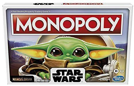 [Prime] Monopoly Star Wars The Mandalorian, Brettspiel für 2-4 Spieler, ab 8 Jahren