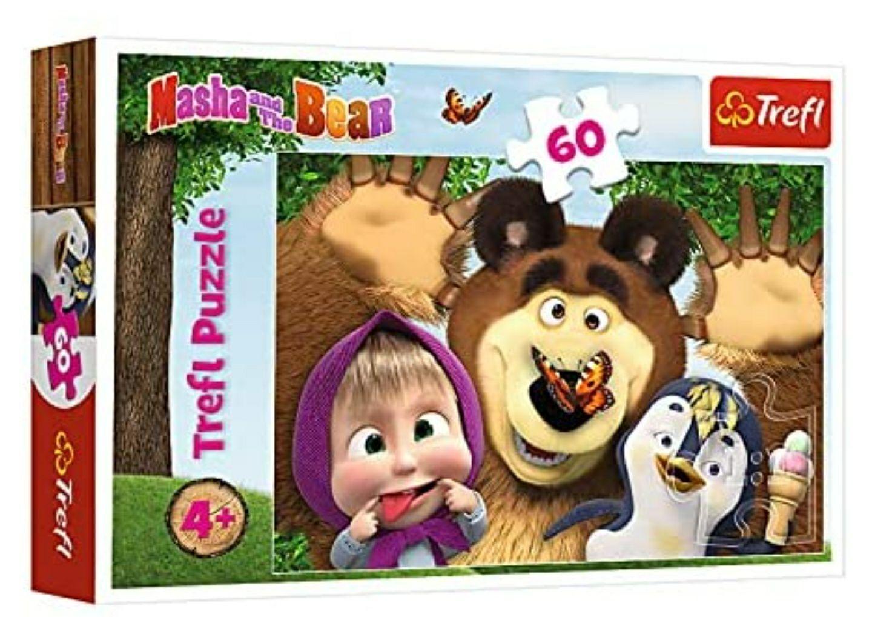 (Amazon Prime) Trefl Puzzle Sammeldeal zB Anna und Elsa, Katzen, Pferde, Mascha und der Bär, Minnie Maus, Biene Maja uvm