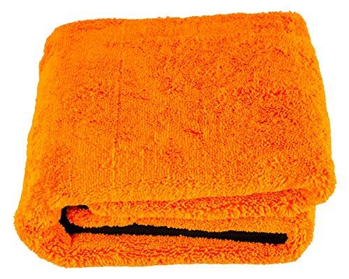 """[PRIME] Liquid Elements """"Orange Baby"""", Auto-Trockentuch 90 x 60 cm, Auto-Poliertuch"""