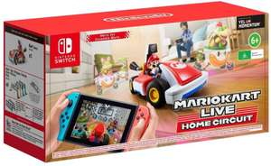 Mario Kart Live: Home Circuit - Mario Set (Switch) für 77.28€ (Amazon UK)
