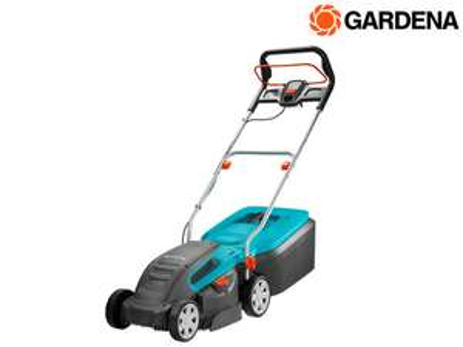 Gardena Elektro-Rasenmäher PowerMax 1400/34 (34 cm Schnittbreite, 40 Liter Fangkorb) [iBOOD]