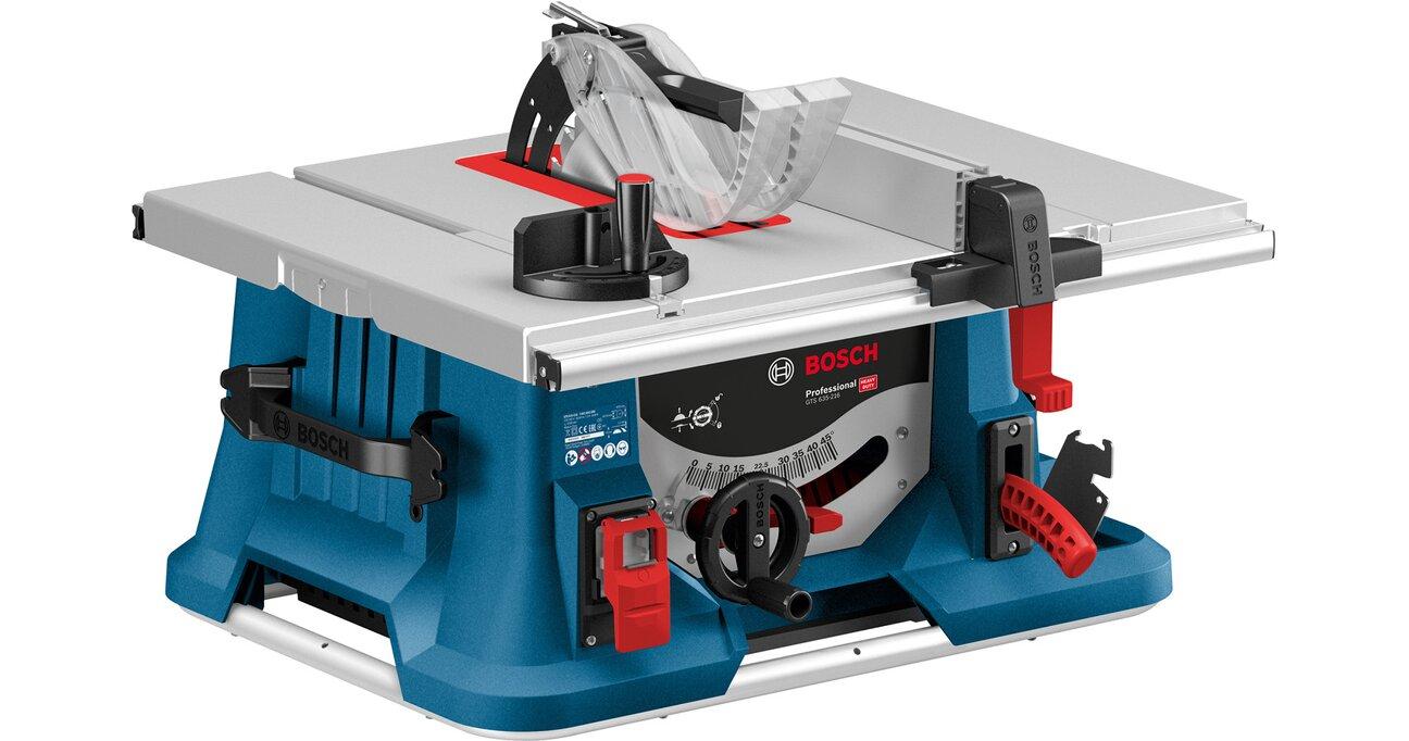 Bosch Professional Tischkreissäge GTS 635-216 mit Hornbach oder Bauhaus TPG