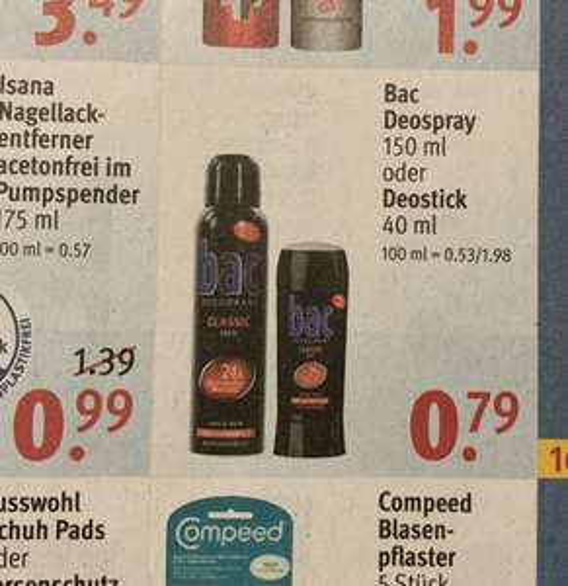 bac Deodorant / Deostick