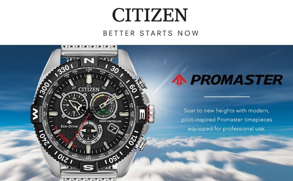 Citizen Promaster Navihawk Chronograph CB5840-59E - Funk - Solar - Ewiger Kalender - Worldtime - Saphirglas - 46mm - 200m WR