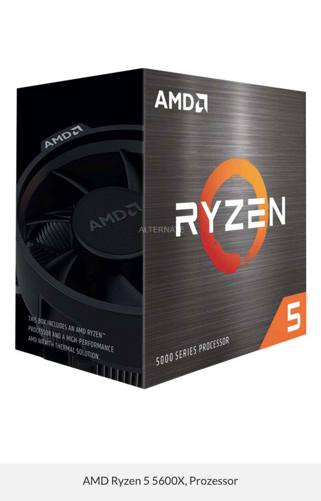 AMD Ryzen 5 5600X CPU
