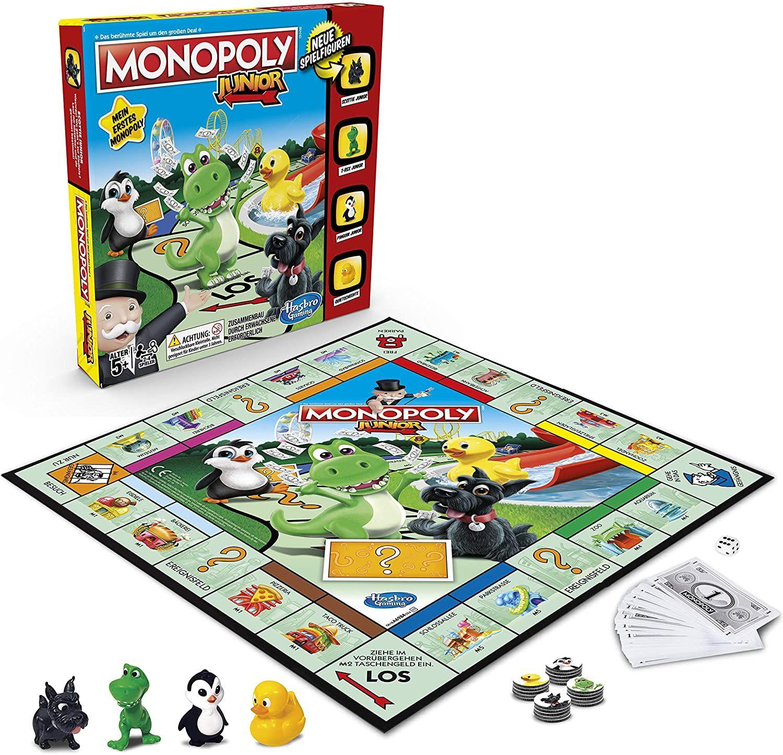 [Amazon UK] Hasbro Gaming Monopoly - Junior A6984594, Familienspiel, ab 5