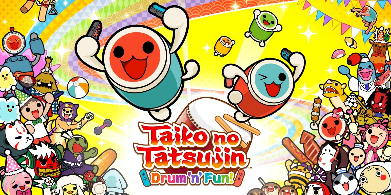 Taiko no Tatsujin: Drum'n'Fun für 14,99€ im Nintendo eShop (Switch)