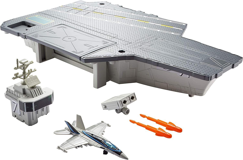 Mattel Matchbox GNN28 Top Gun Flugzeugträger Spielset [Amazon Marketplace]