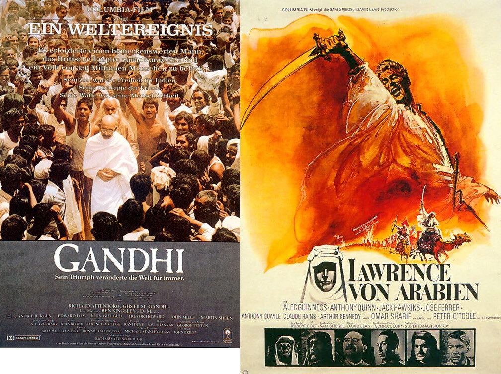 Gandhi und Lawrence von Arabien 4K Ultra HD Blu-ray Box Vorbestellung zum 08.07.2021