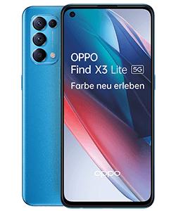 Oppo Find X3 lite 128GB 5G alle Farben + Oppo Earbuds + großes Zubehör Paket im o2 Allnet Flat 12 GB LTE für 19,99€ monatlich, 1€ einmalig