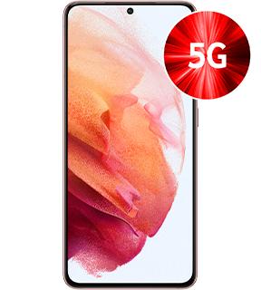Samsung Galaxy S21 5G 128GB alle Farben für 1€ einmalig und 29,99€ monatlich im Vodafone Netz 6GB LTE