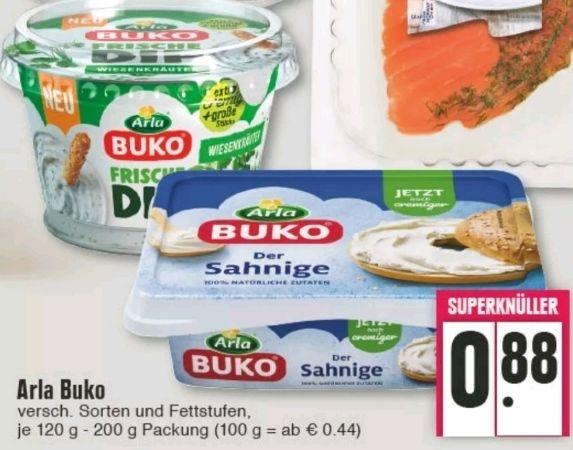 [Edeka Rhein-Ruhr] Arla Buko Frischer Dip versch. Sorten mit Coupon für 0,58€