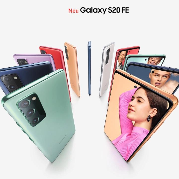 Samsung Galaxy S20 FE 128GB 5G für 79€ einmalig, 24,99€ monatlich im O2 Blue-All In M 18GB, 12GB LTE für insgesamt 698,75€