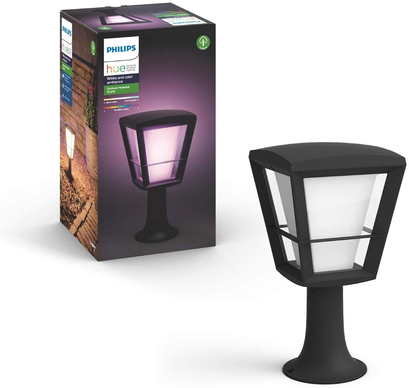 [Amazon ES] Philips Hue 3 für 2 Aktion - 3 x Econic Outdoor Sockelleuchte 282,99€ | 3x Outdoor Lightstrip 2m 214,50€