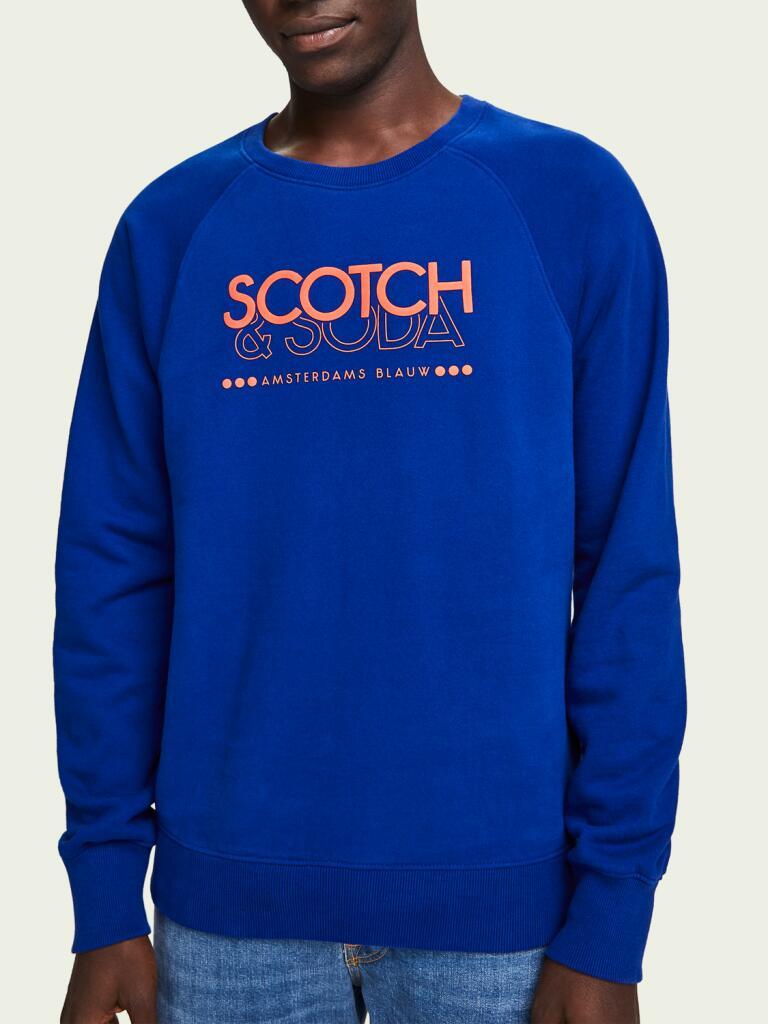 Hot Deals mit bis zu 70% Rabatt im Scotch & Soda Outlet, z.B. Sweatshirt mit Artwork