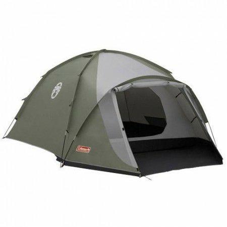 Coleman STAN ROCK SPRINGS 4, 4-Personen-Zelt, 3000mm Wassersäule, 2 Eingänge, Feuerfest, 3 Jahre Garantie [sportisimo.de]