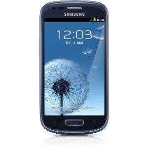 Samsung Galaxy S3 mini pebble-blue (WHD-Wie neu)