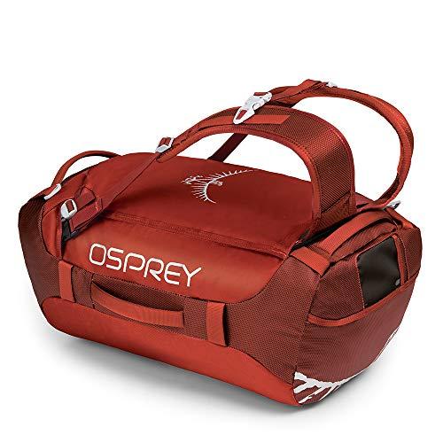 Osprey Transporter 40 Reisetasche (40l Volumen) in Ruffian Red (EU-Hangepäcksgröße)