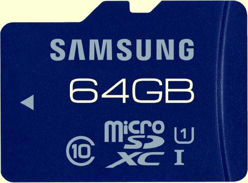 SAMSUNG MICROSDXC KARTE PRO 64GB CL10 bzw. UHS-I @digitalo für 44,69€