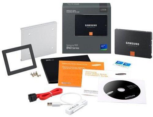 Samsung 840 Series All-in-One Kit SSD 250GB für 144 EUR