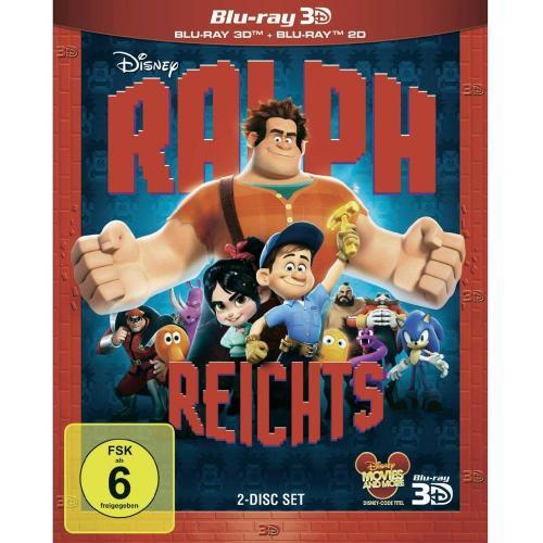 3D Blu-ray - Ralph reichts! (+ Blu-ray) für 20,95 EUR inkl. Versand bei Conrad