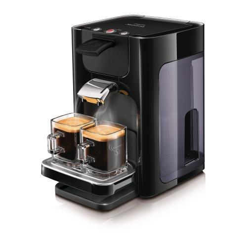 Dienstag -  Philips HD7860/60 Senseo Quadrante Kaffeepadmaschine, schwarz für nur 64,95€ inkl. Versand bei Meinpaket.de (Idealo: 78€) - Ersparnis: 13€