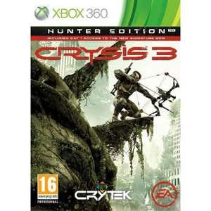 (UK Xbox360/PS3) Crysis 3 Hunter Edition für ca. 35,53 €