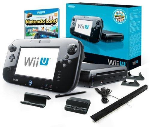 Nintendo™ - Wii U 32GB Konsole Premium Pack (Black) für €252,85 [@Amazon.it]